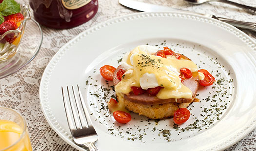 Southern Style Breakfast - Mississippi Bed and Breakfast