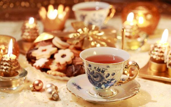 Christmas Tea in Natchez