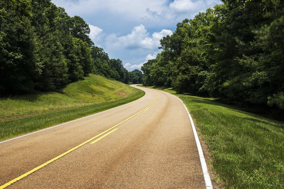 Natchez Trace Road