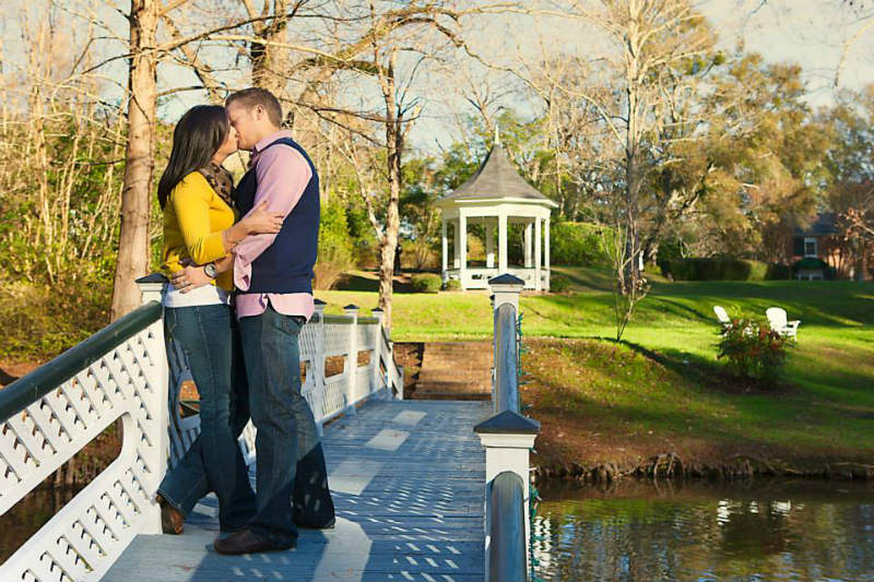 Proposal at Monmouth Historic Inn by John Mathis Photography