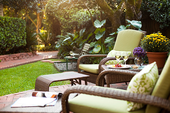 Devereaux Shields Garden Chairs in Natchez
