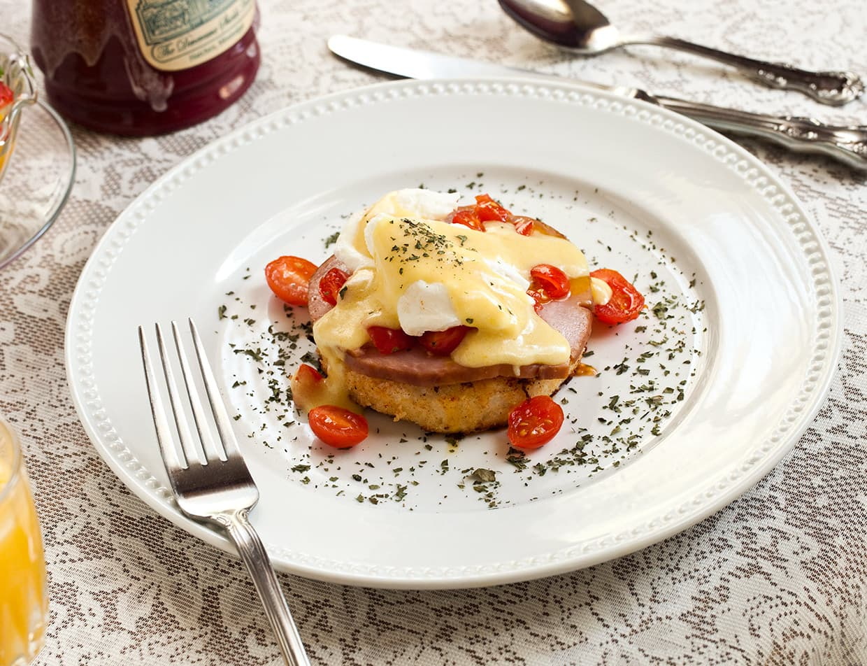 Delicious homemade breakfast
