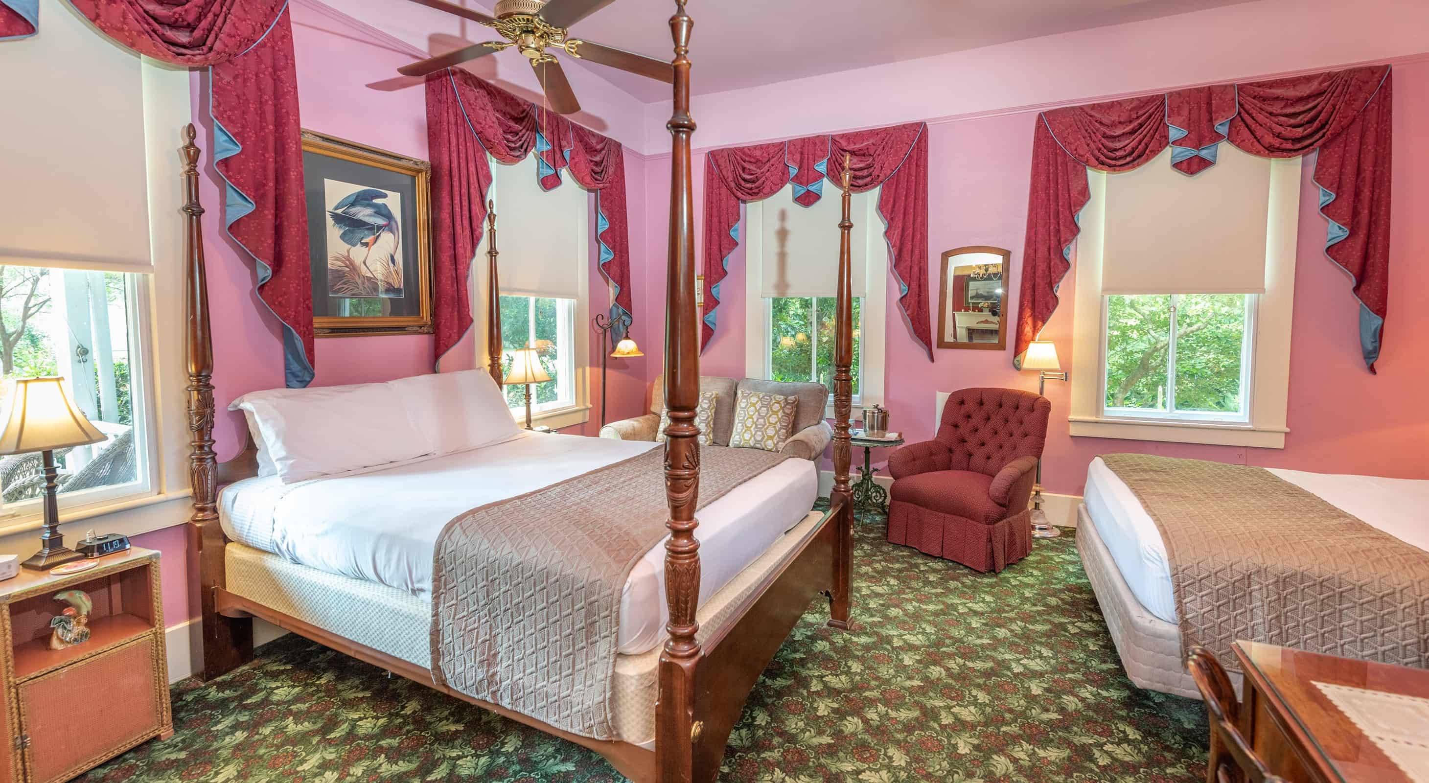 Louise Room, romantic places in Mississippi