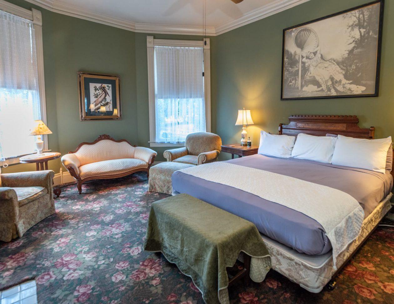 Rose Suite king bedroom