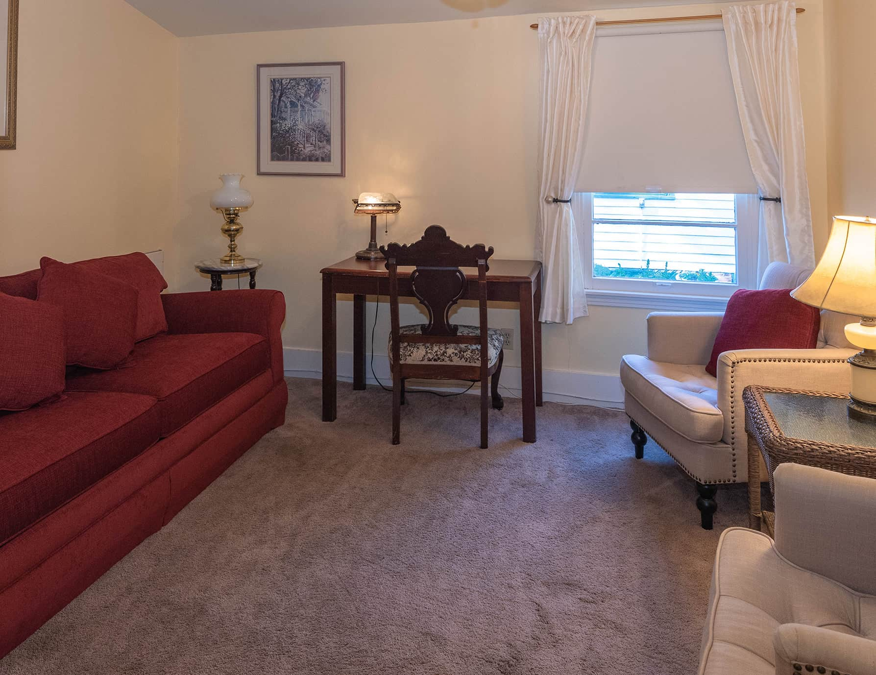 Victoria Suite at our Pet Friendly Natchez, MS Bed and Breakfast
