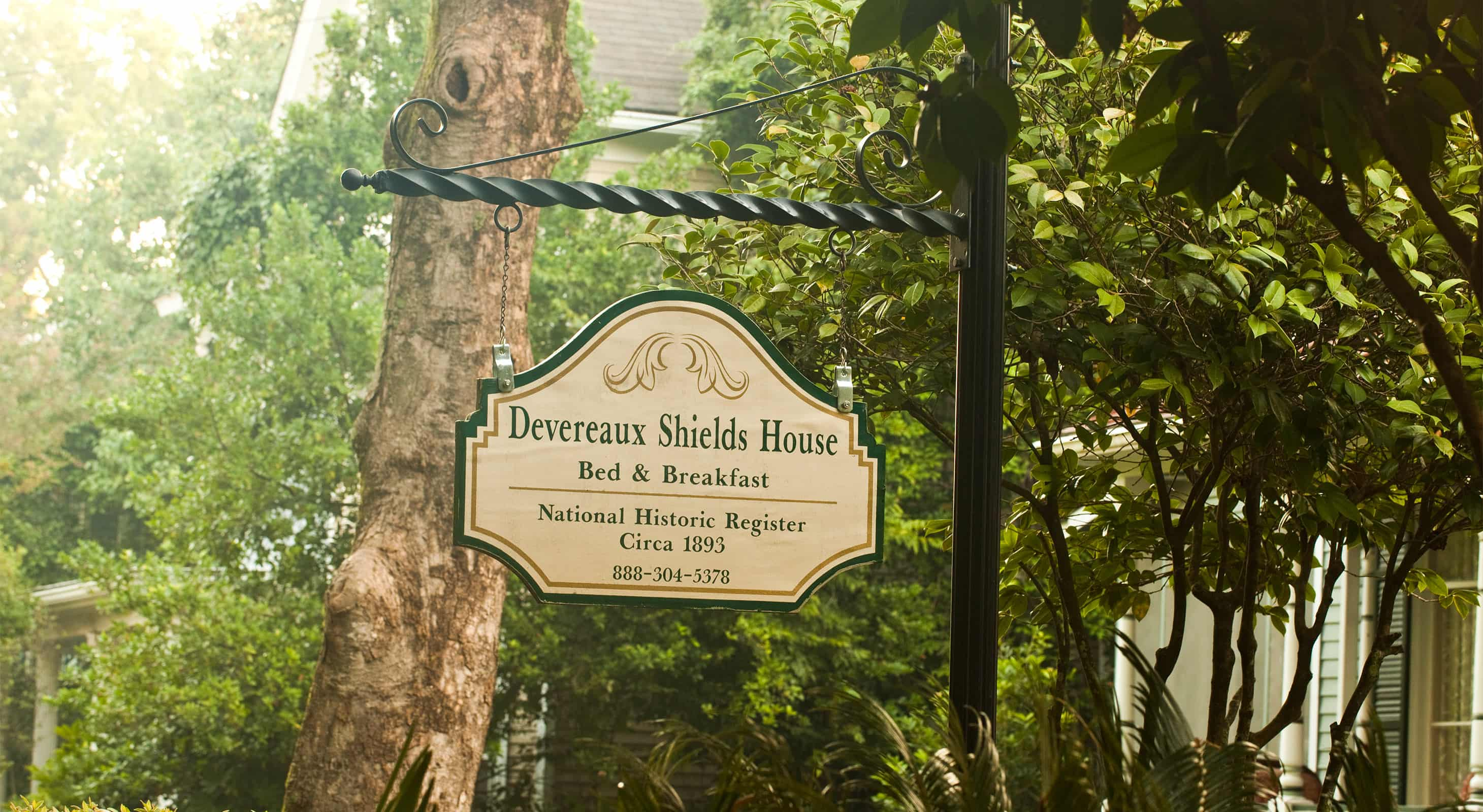Devereaux Shields House Sign