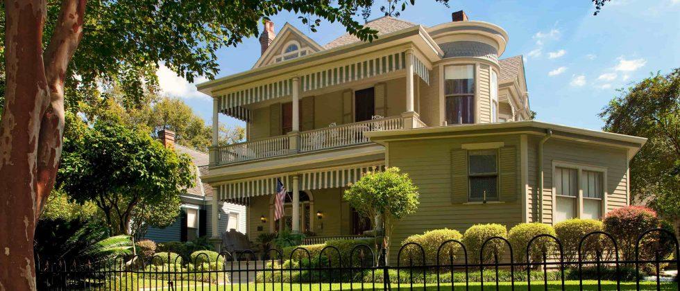 Devereaux Shields House on a sunny day